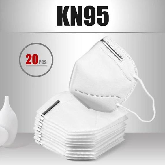 20x Respirator KN95